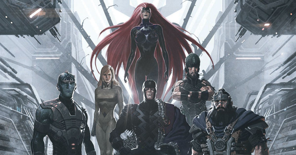 Marvel's @theinhumans come to life—finally!—in this exclusive first look:
