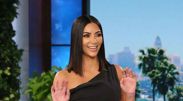 Kim Kardashian cries as she describes the Paris robbery to Ellen DeGeneres: