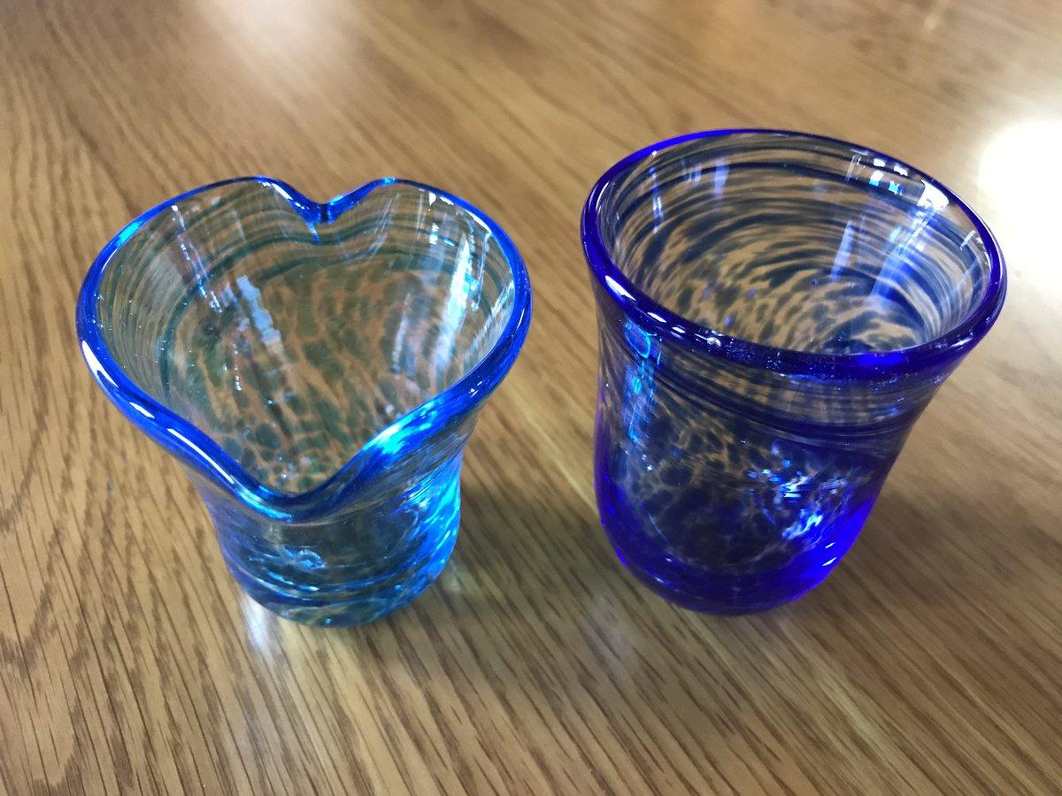 先日、吹きガラス初体験してきました!日本酒が好きなのでマイぐい呑み作り٩( ᐛ )و漫画・アニメ「#いとしのムーコ 」の