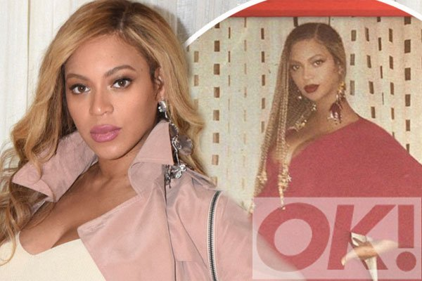 Mum-to-be @Beyonce releases UNSEEN polaroid snaps of her bump