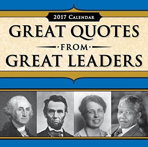 2017 Great Quotes from Great Leaders Boxed Calendar #books #news #giveaway #free