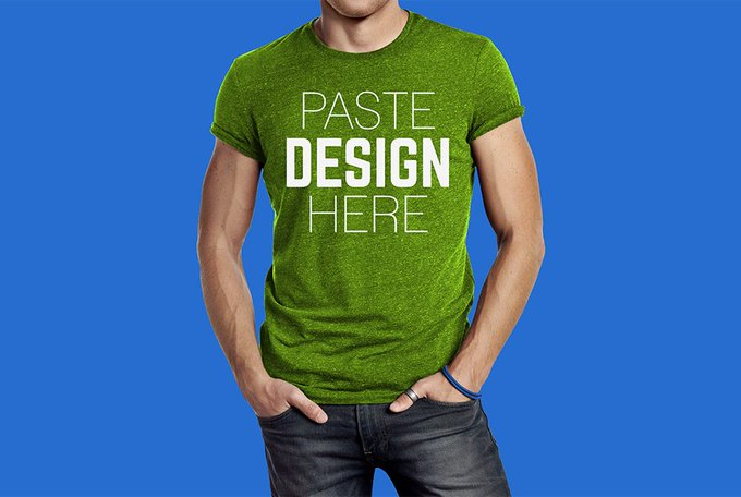 Male T-Shirt Mockup Free PSD LayeredPSD freepsd psd freebie download