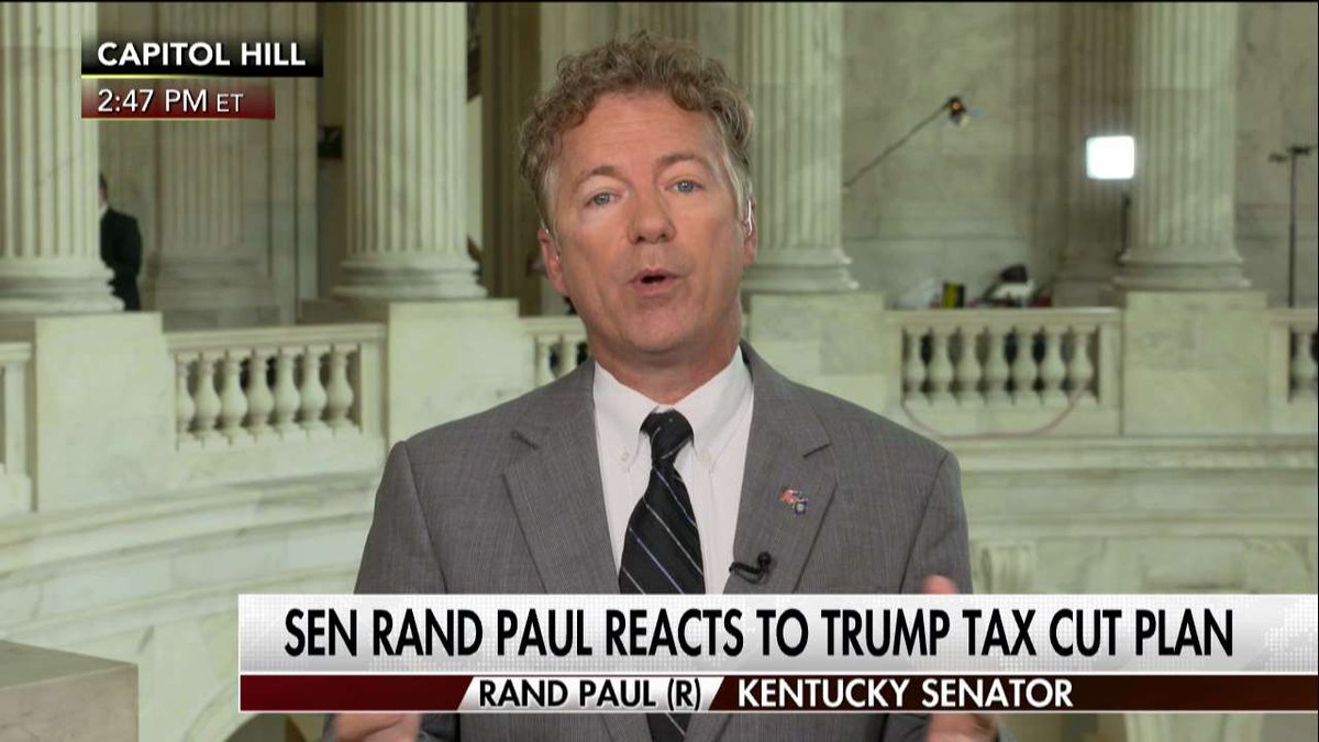 ".@RandPaul ""I would not only cut taxes, I would cut spending as well."""