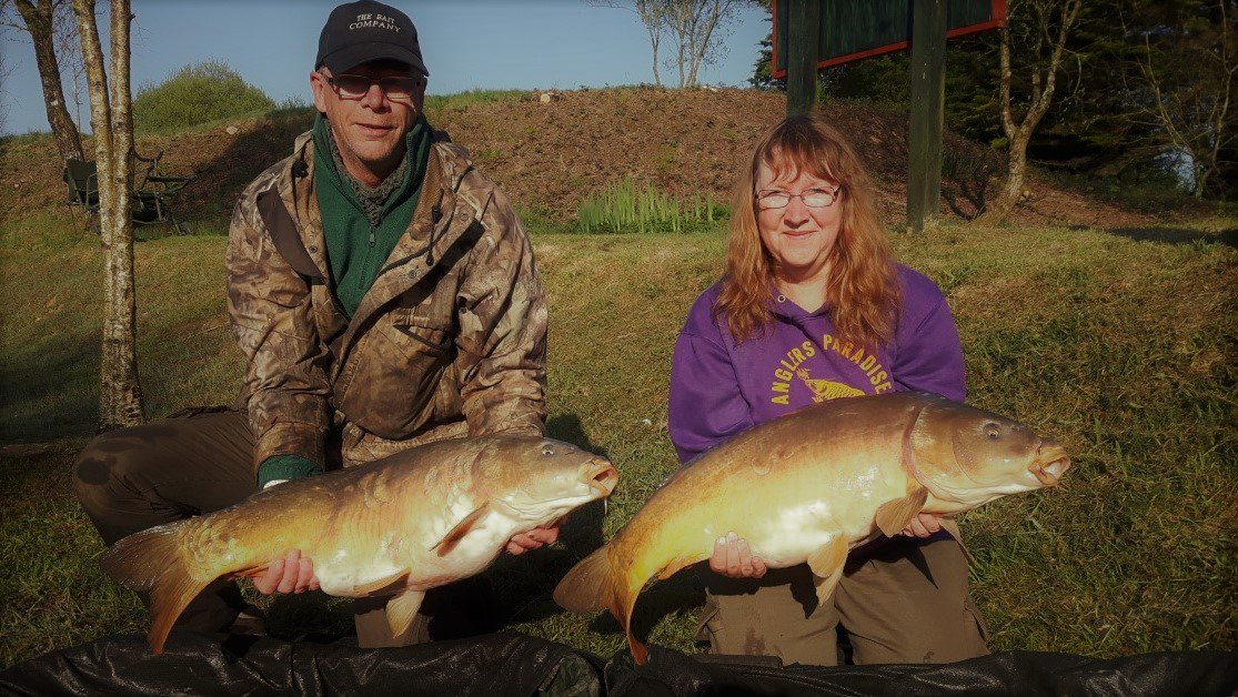 DOUBLE TAKE FOR CARPING MAD COUPLE! #carpfishing #<b>Anglersparadise</b> #couplesthatfish https://t.