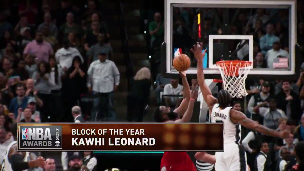 Who had the best block of the year?   Vote using player's name & #BlockOfTheYear.  #NBAAwards https://t.co/wzvaud9Ybs