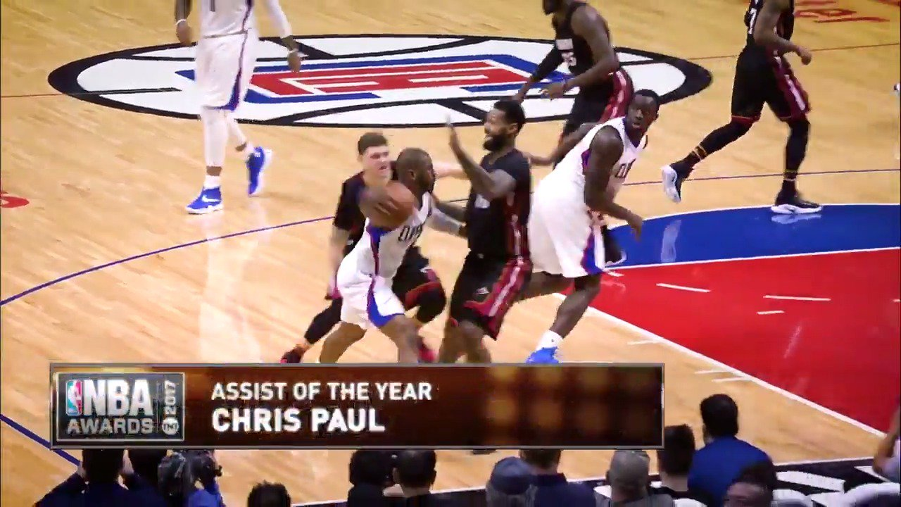 Who dropped the best dime this year?   Vote using player's name and #AssistOfTheYear.  #NBAAwards https://t.co/Q38pJeE5X9