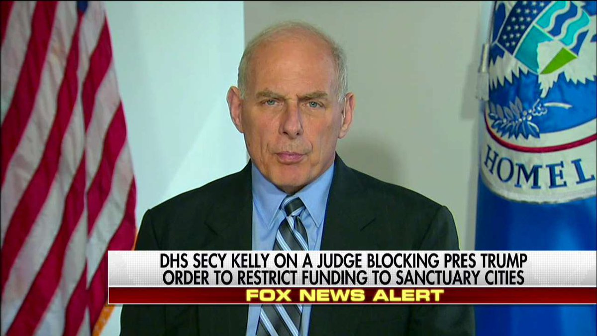 "Sec. Kelly ""Immigration judges and ICE agents do not deport people. The law deports them."""
