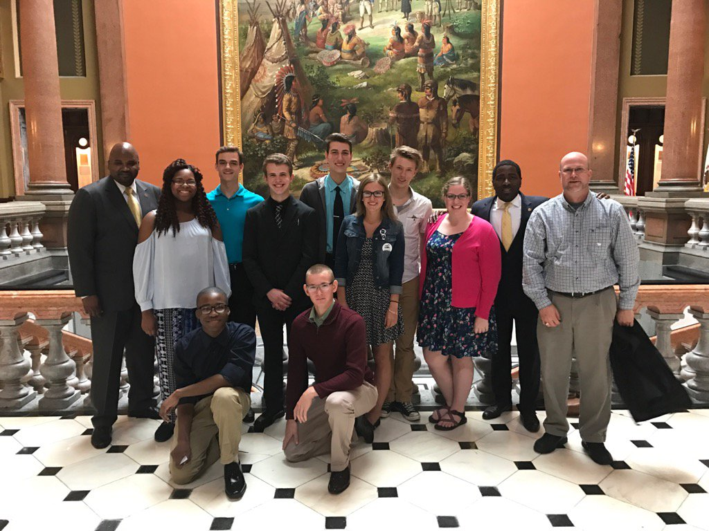 test Twitter Media - Welcoming students and staff from Illiana Christian HS to the Capitol to see their government in action. https://t.co/azl7plhaJh
