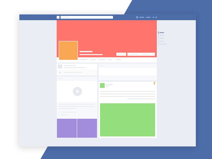 Facebook Mockup Screen   Mockup by Karthi Keyan freebie