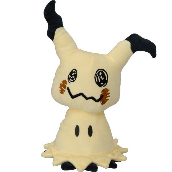 \予約受付中/『ポケットモンスター サン&ムーン』に登場するピカチュウに似た姿を持つポケモン「ミミッキュ」のぬいぐるみで