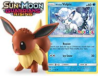 tweet-TRU's May event will give out the Guardians Rising Alolan Vulpix as a holo. First 50 fans also get an Eevee figure: https://t.co/x8PM9PzgFT https://t.co/q3df6arZ9g