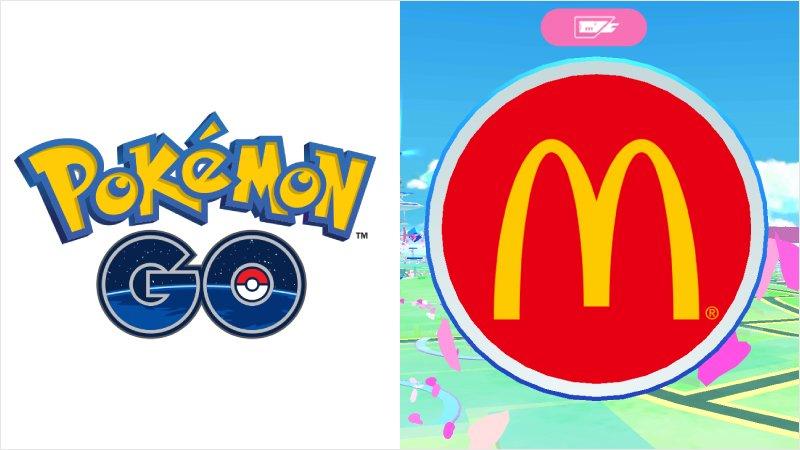 4月29日から Pokémon GO コラボスタート✨ #ポケストップ に指定されているマクドナルド店舗が、ポケモンを引