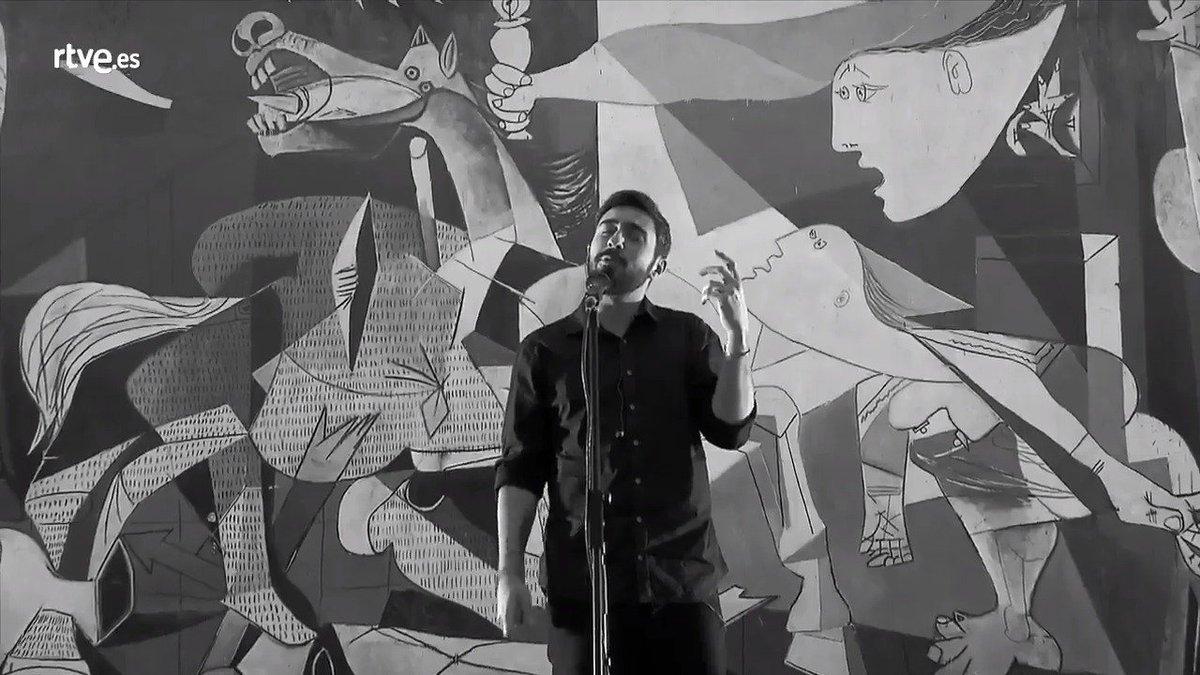 ⚠️ El próximo miércoles... #SuenaGuernicaRayden ⚠️ @soyRayden #Ubuntu @radio3extra @rtvees #Guernica80Aniversario