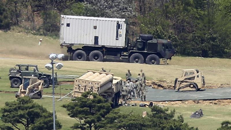 Seoul rejects Donald Trump's demand that it should pay for a $1bn missile defence system
