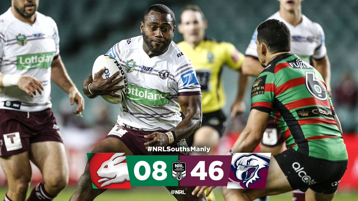 %23NRLSouthsManly