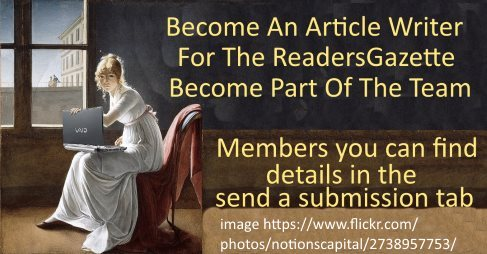 Become Part of the Team  Members send us your articles today for promotion https://t.co/YZDGBmJY2G #authors 4 https://t.co/giIZJXnIxx