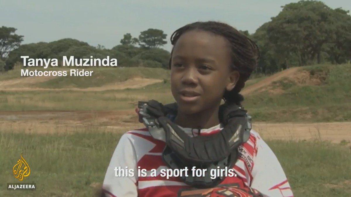 #WorldChildrensDay Meet Zimbabwe's 12-year-old motocross prodigy.