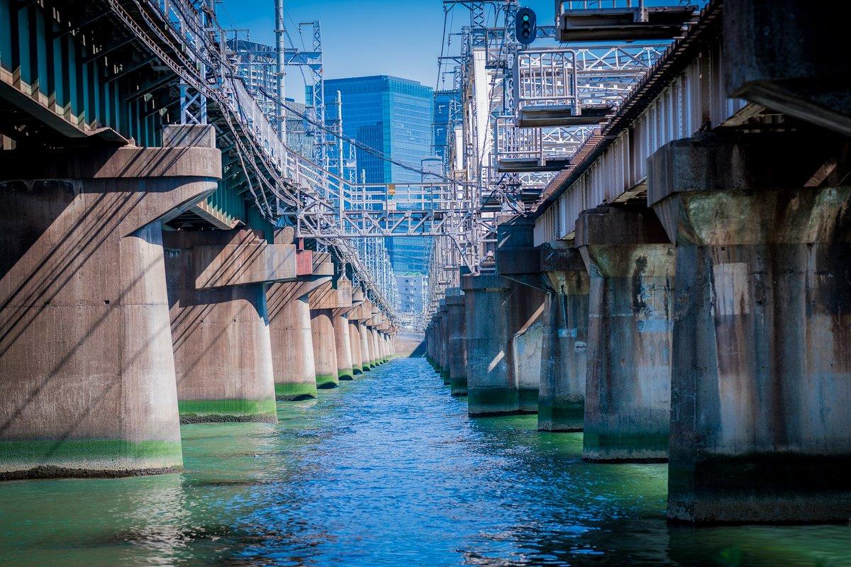 大阪に行ったら撮影したいと思っていた淀川河川敷!!映画 寄生獣のロケーションの場所🙌