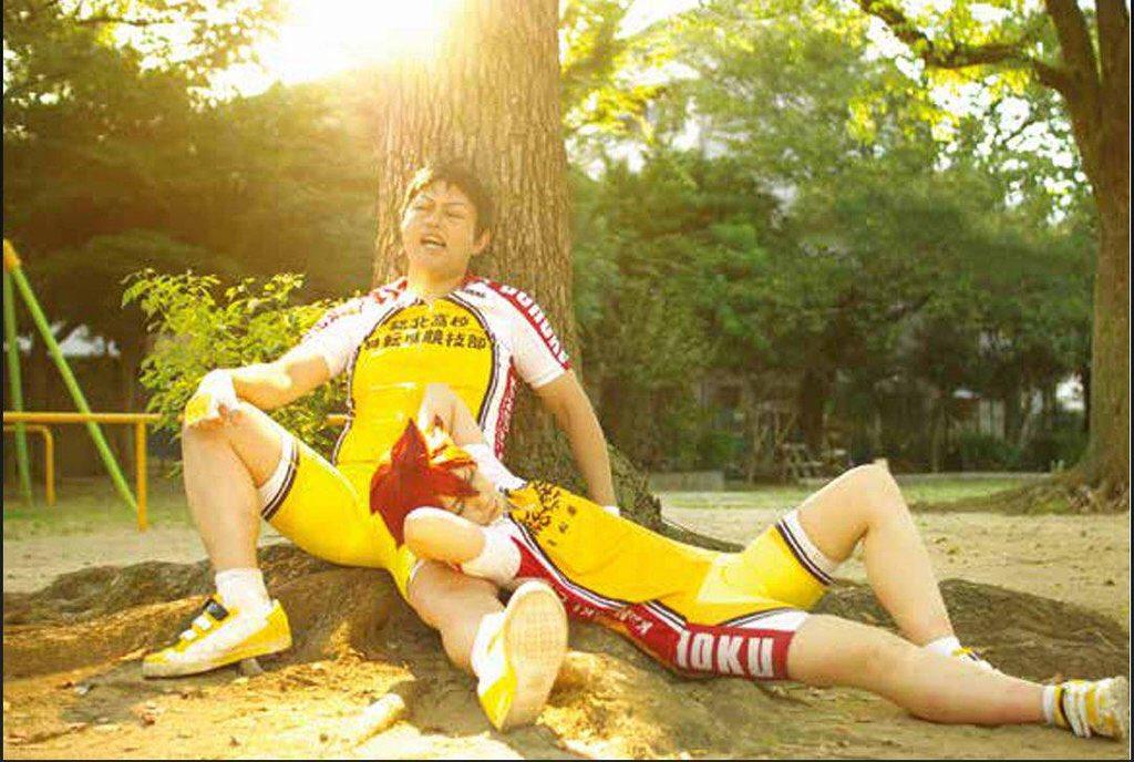 もう時効かなってことで、弱虫ペダル同人写真集に載っけてたものを公開!さーんそー!!#田所迅