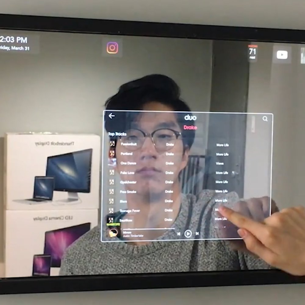 test Twitter Media - This smart mirror will control your connected home and watch your every move! 😳 #Robotics #AI #ArtificialIntelligence #IoT #Industry40 #smarthome #tech https://t.co/JgJT9OVRvf