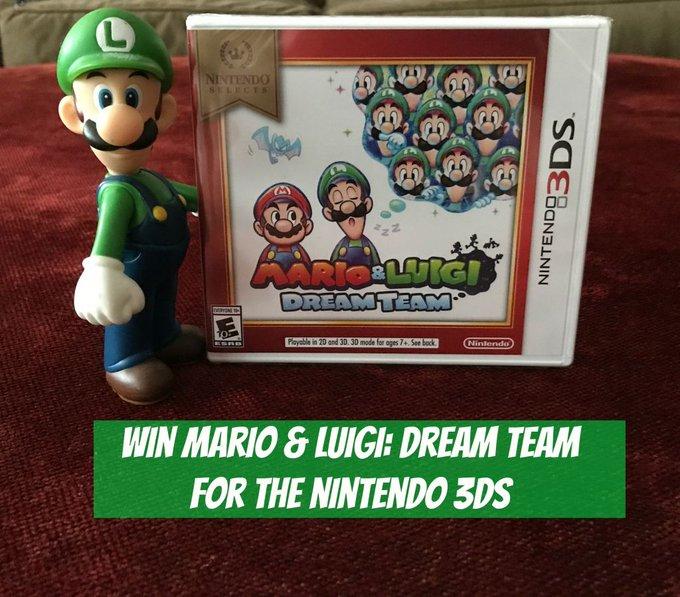 Win Mario & Luigi Dream Team for the Nintendo 3DS