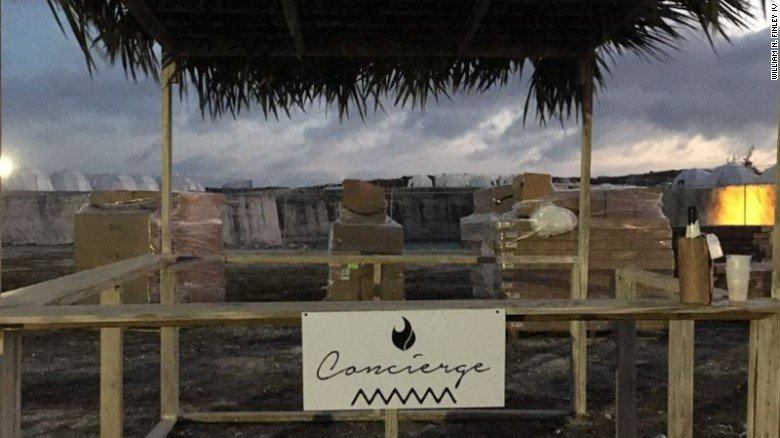 Fyre Festival, a $12,000 luxury music festival in the Caribbean, turns into chaos