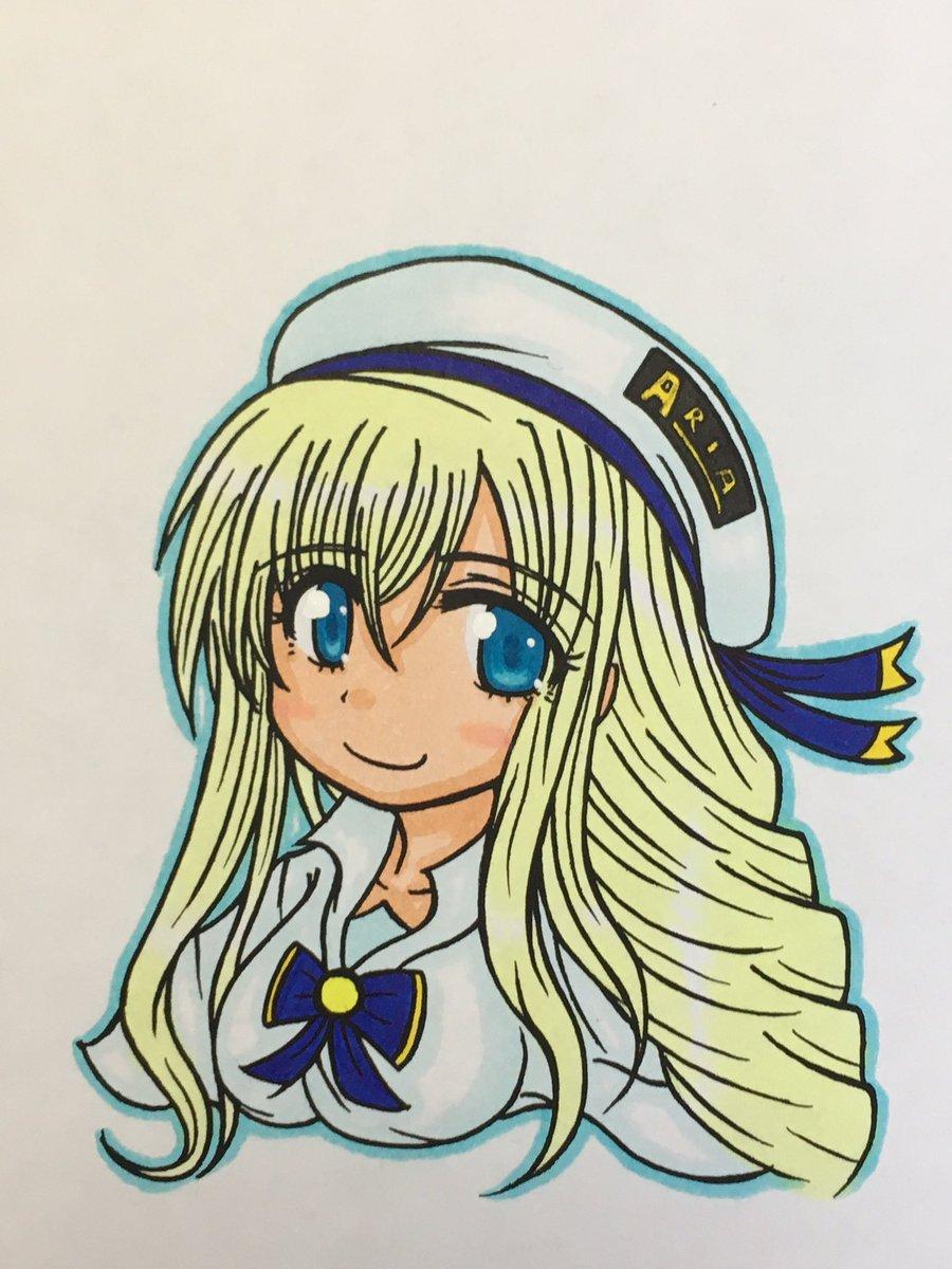 レネイルさん()アリシアさん(ARIA)綺麗なお姉さん大好きです…♡手癖でささーっと描きましたが、初描きとは思えない描き