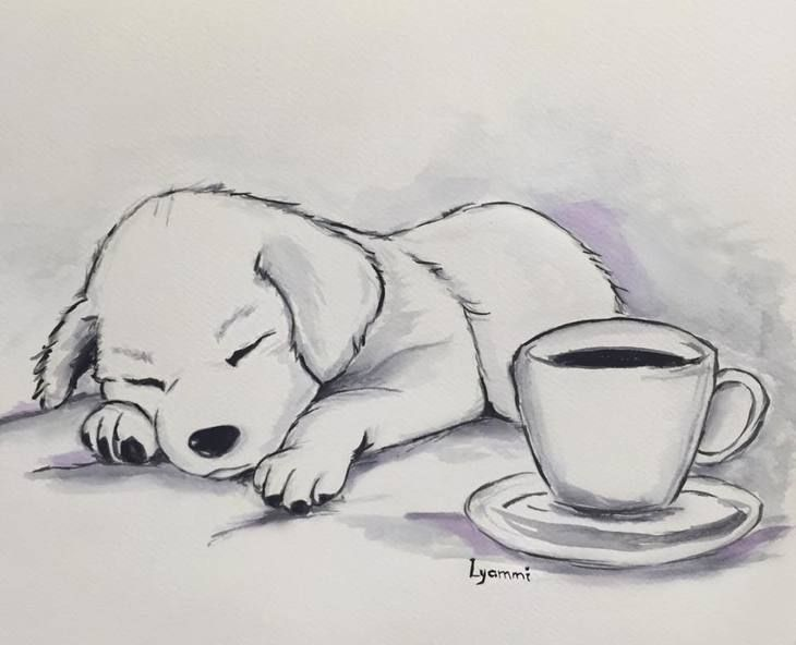 RT @hitRECord: Pups & coffee... does it get any better? https://t.co/DIRv2jr92A https://t.co/r8oY0ZUPFJ