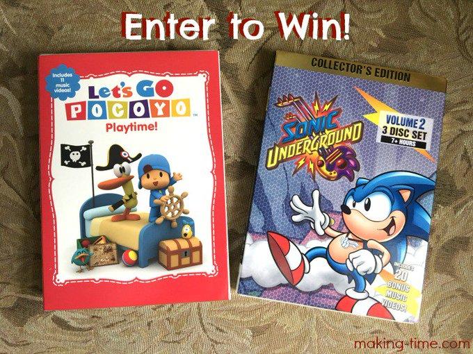 #TBT with Pocoyo & Sonic {Giveaway} -