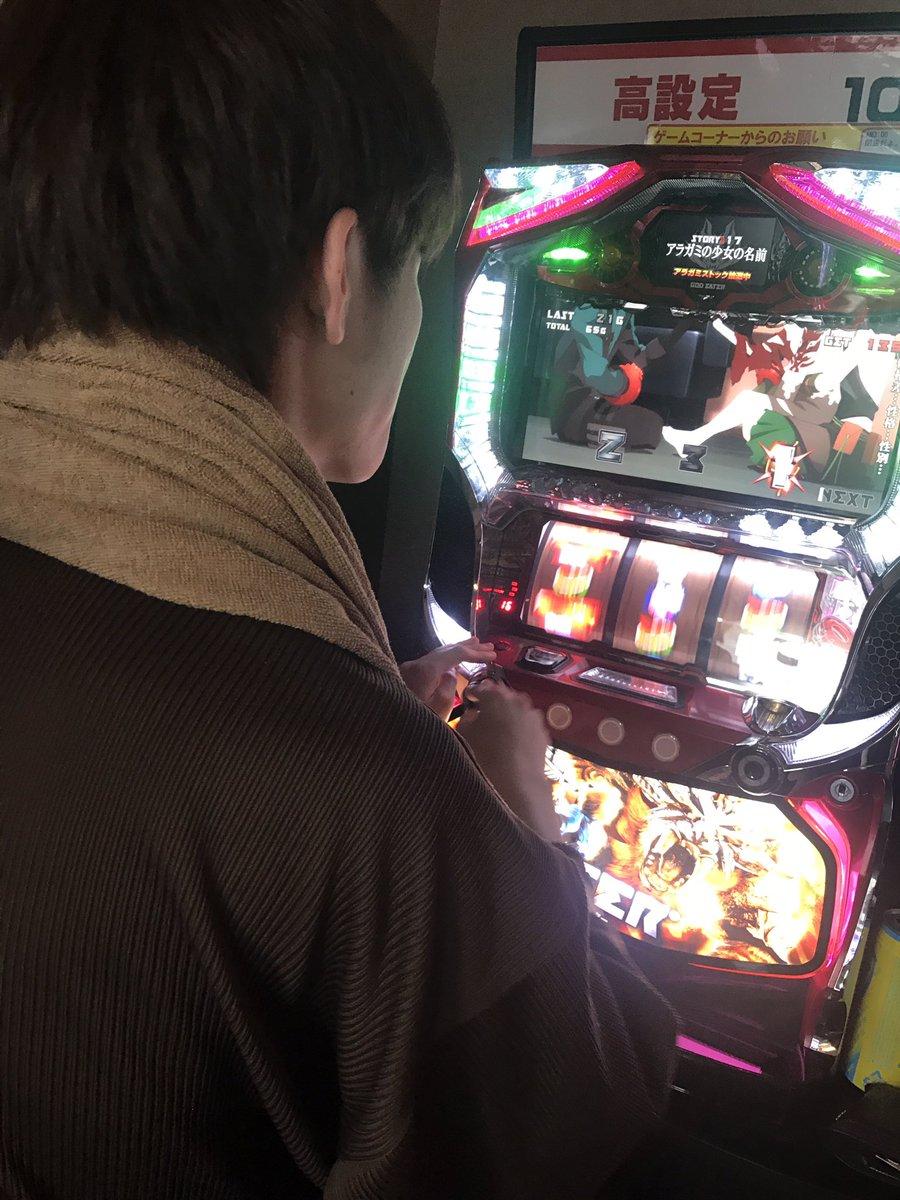 竜泉寺でGOD EATERを貪るように打つ妖精