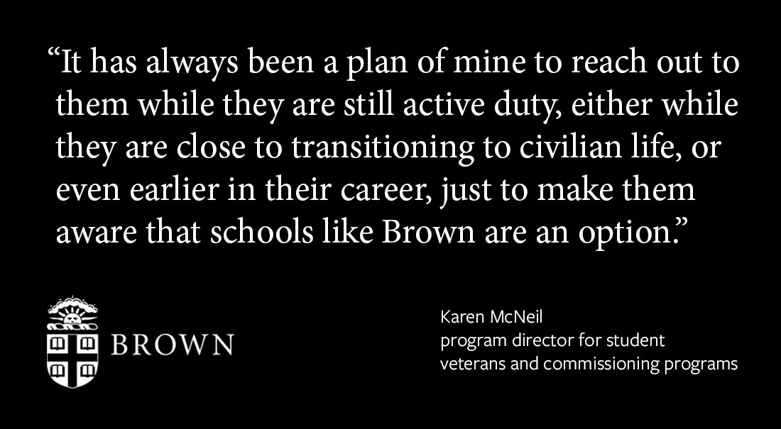Brown signs on to Defense Department education agreement https://t.co/m5YtepEXJD https://t.co/NETrdZEtuf