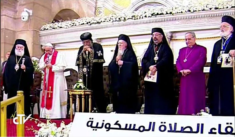 #popeinegypt