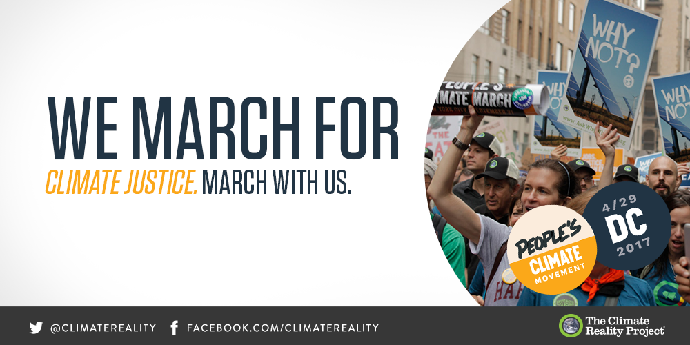 Tomorrow, we're marching for a better world. March with us and #BeInconvenient https://t.co/foQhOdUW9l #ClimateMarch https://t.co/IEAIKdSpaI