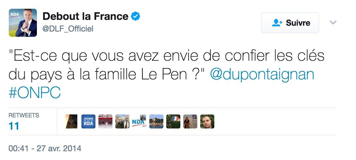 Oh bah non alors ������ Nicolas Dupont-Aignan https://t.co/vCqvp0KEEd