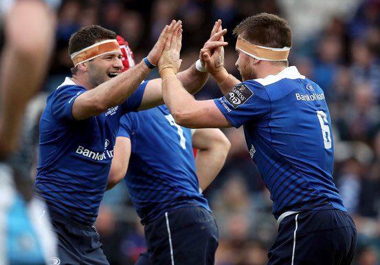 .@leinsterrugby giving the home crowd a great first half as we close out the final home game of the regular season! https://t.co/szJbNtnQov