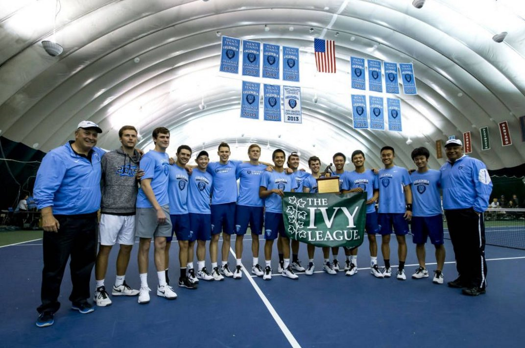 .@ColumbiaMTennis picks up fourth consecutive Ivy League title https://t.co/yOJyfybbgC  #RoarLionRoar https://t.co/OUhOTgE4W9