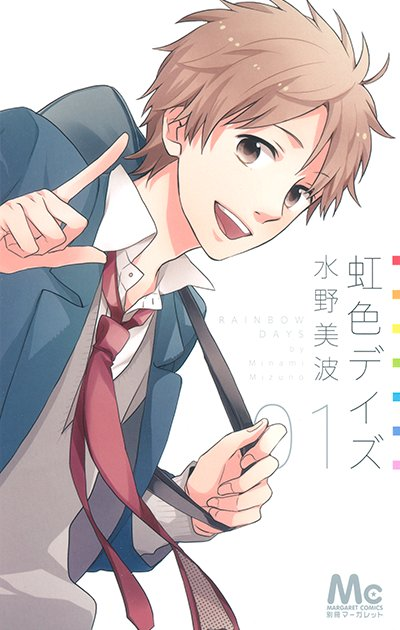 "Anunciado spinoff para Nijiiro Days"" (虹色デイズ) de Minami Mizun"