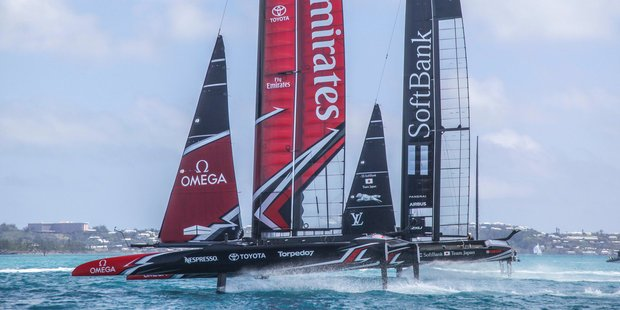 America's Cup: Team New Zealand strong in first practice racing outing in Bermuda