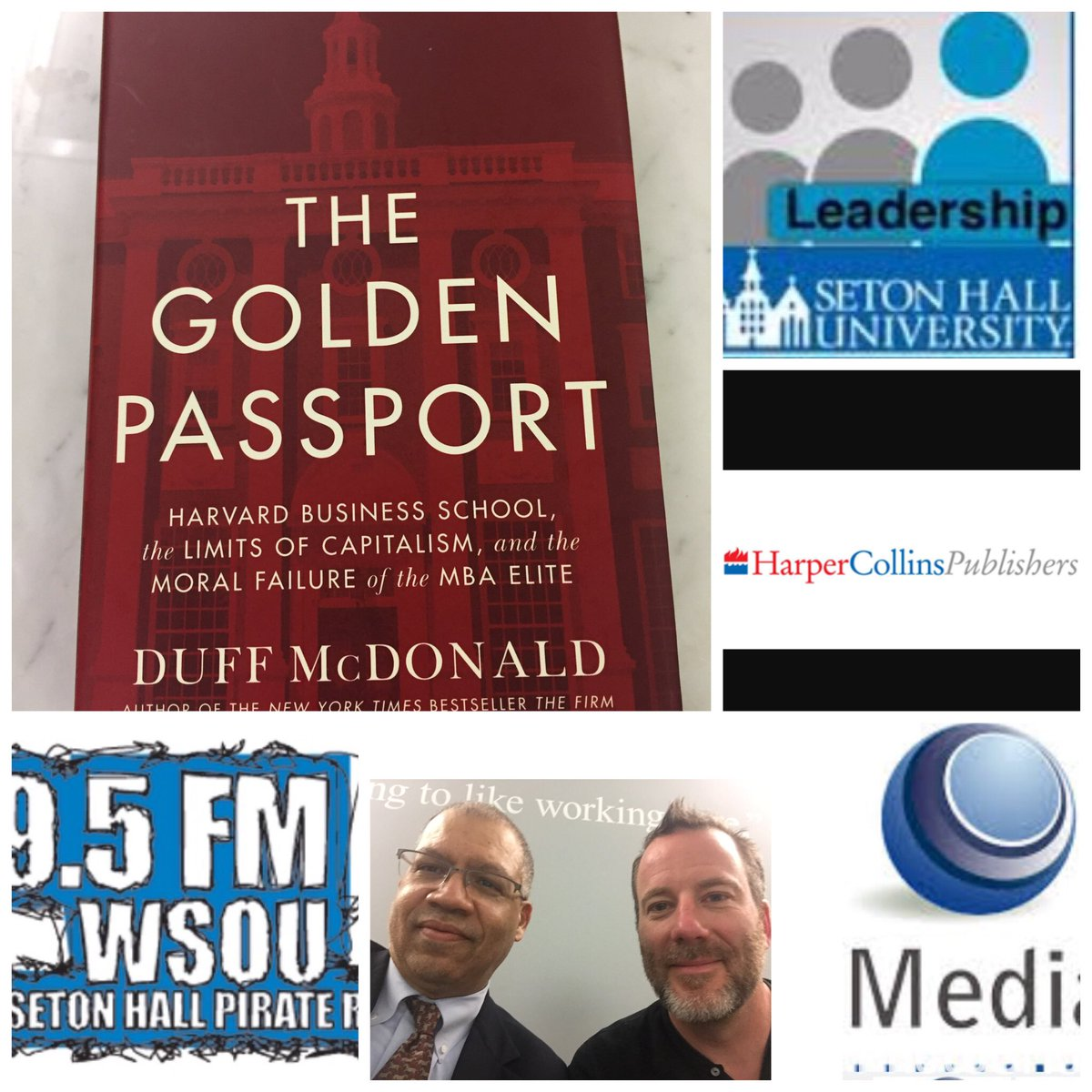 test Twitter Media - Interview w Duff McDonald author The Golden Passport Harper Collins.  Sat 8am WSOU 89.5 fm and streaming https://t.co/tlwO26aCS0! https://t.co/NGlDB93xuY