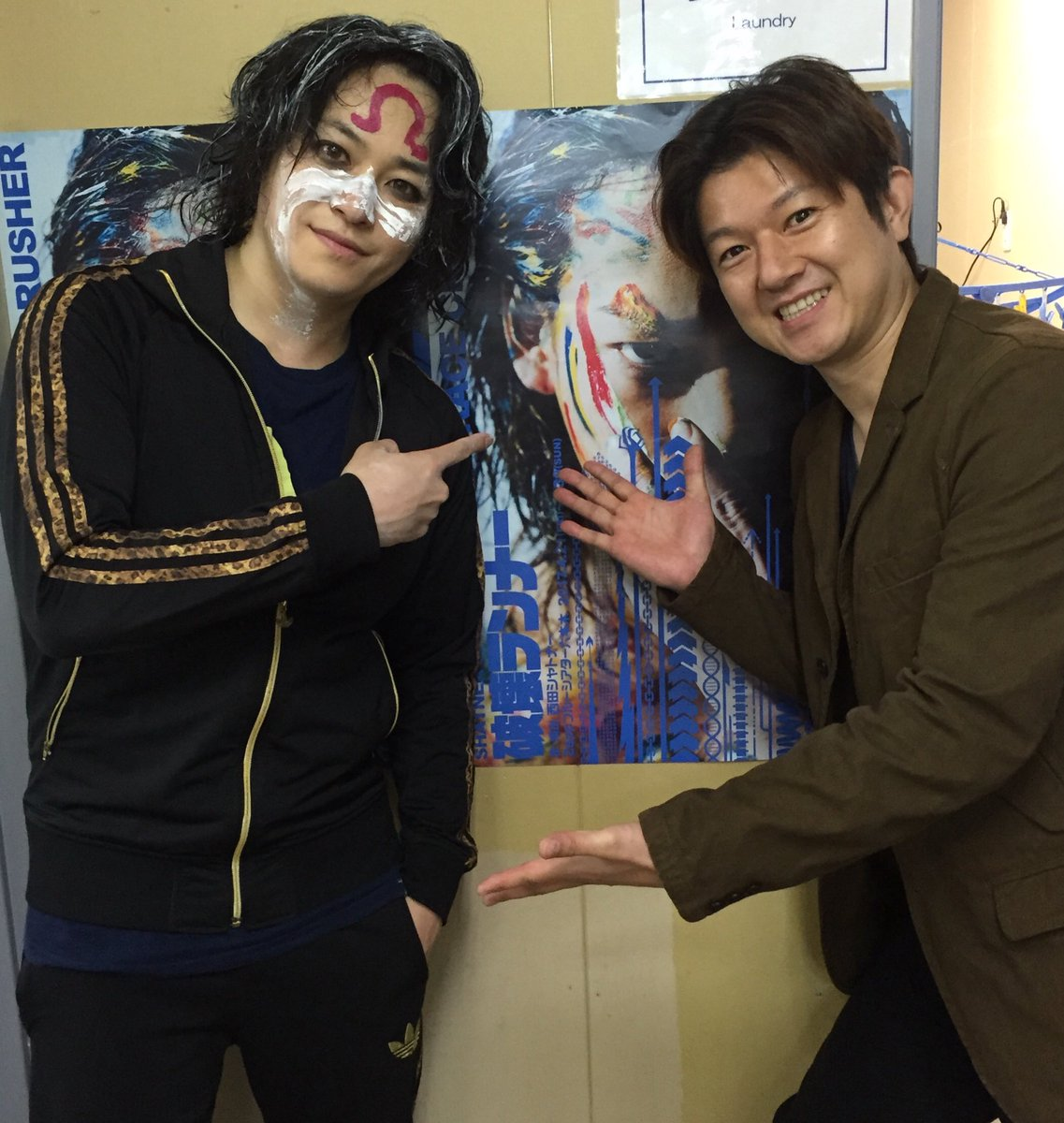 「ALL OUT!! THE STAGE」の脚本・演出をお願いしてる西田シャトナーさんが、こちらも脚本・演出を手掛ける『