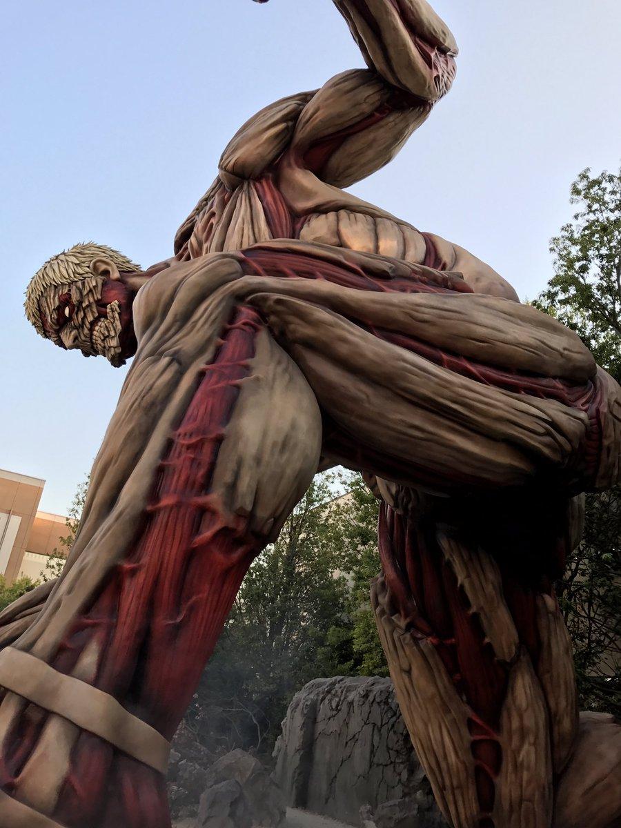 バーテックスからの生存者を探して四国から壁の外に壁外調査に訪れた勇者たち。大阪で待っていたのは人類を捕食する巨人だった。