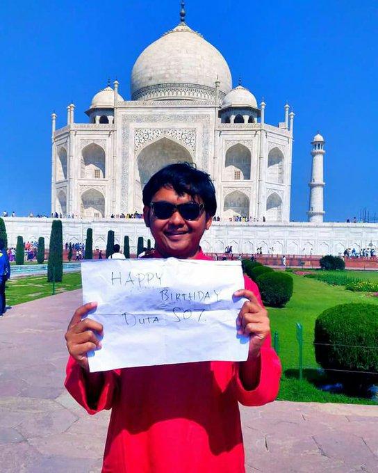 Happy Birthday, selamat ulang tahun, the best from Taj Mahal India