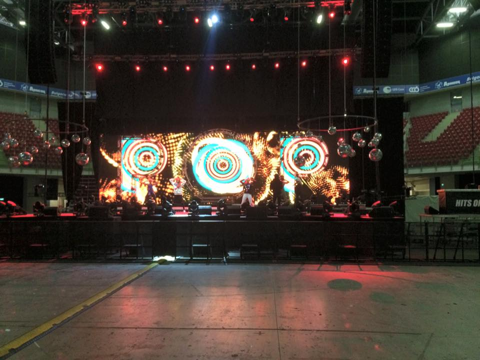 Soundcheck for tonight's show in Sofia, Bulgaria. https://t.co/mOavR7uMTs