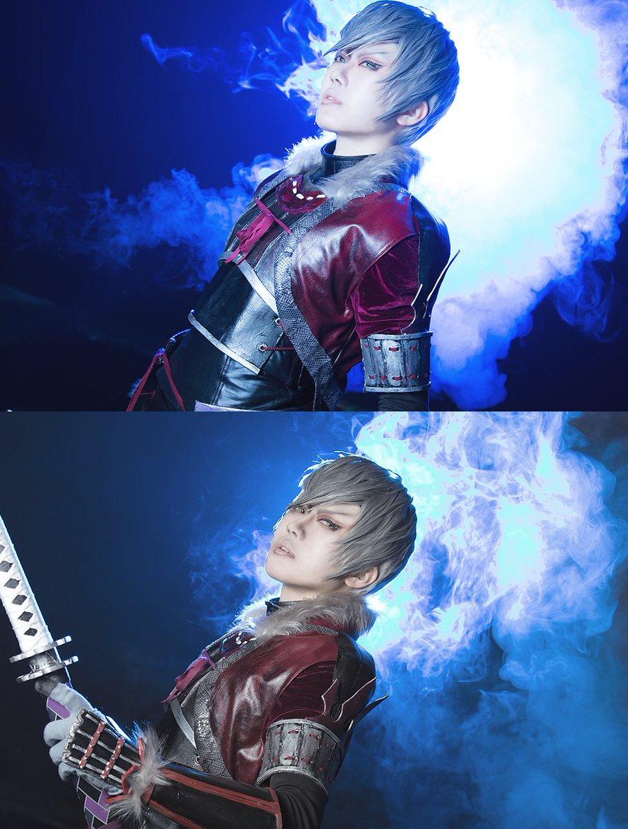 *コス戦国BASARA/石田三成(4第弐衣装)月光Photo→ Rai()Thanks→クロノス()いろいろ撮影してもら