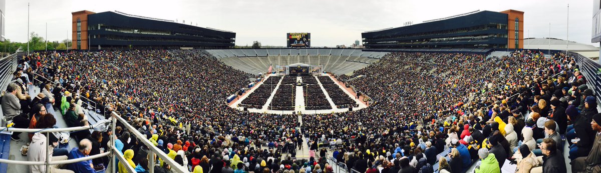 RT @ANDER5IZZLE: @UMich #MGoGrad #mgoblue it is overcast & chilly out, but it is still a great day for a graduation! https://t.co/nMyfvhRQpB