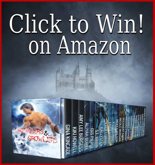 Want a freebie? Come and grab it! AmazonGiveaway boxedset growlersandprowlers freebook
