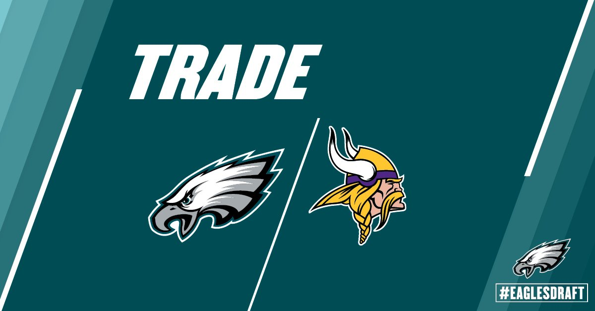 #Eagles have traded picks 139 and 230 to MIN for pick 132. https://t.co/pKOtbBxGkb