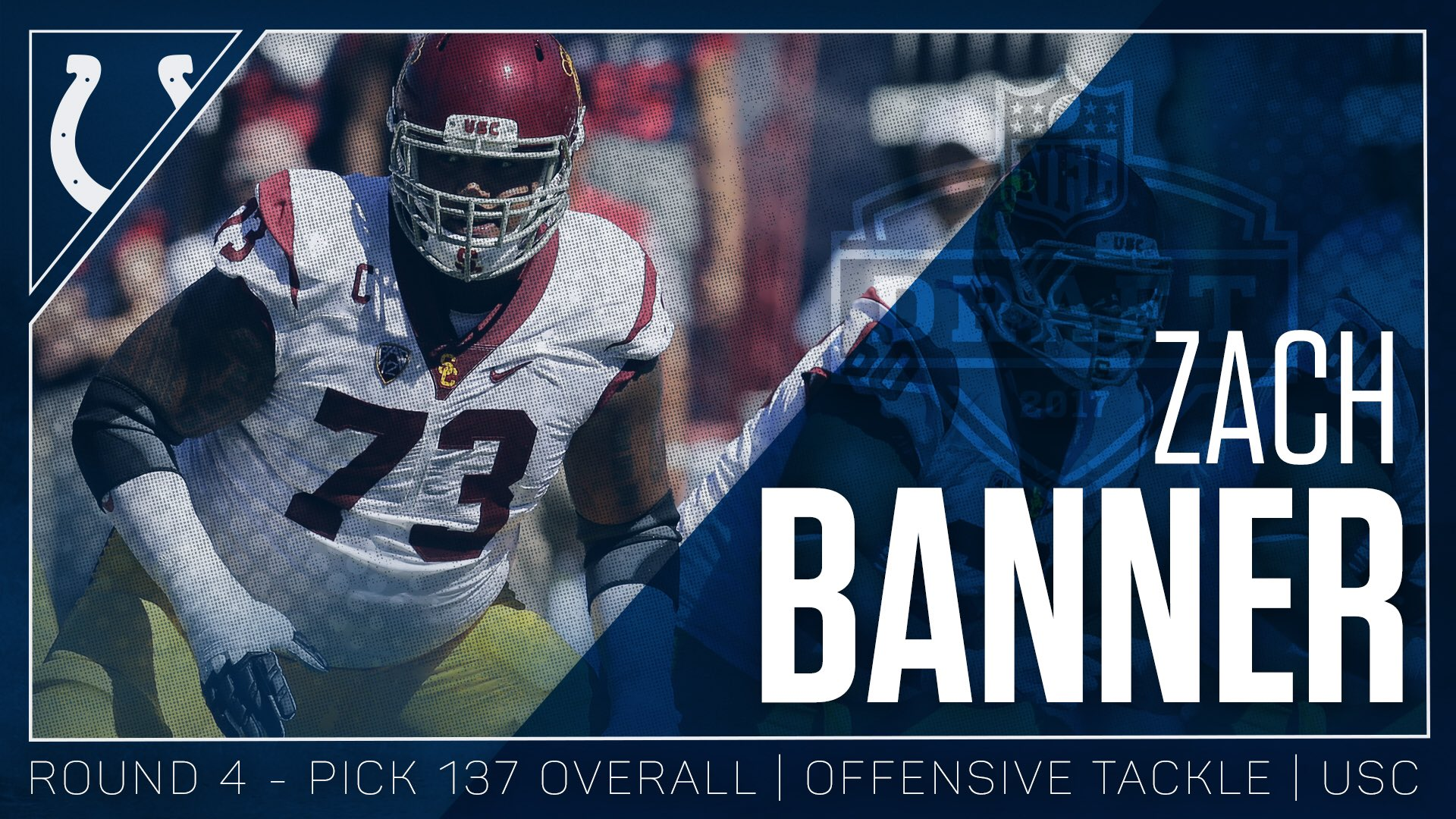 How about some offense? #ColtsDraft   Welcome to the team, @ZBNFL! https://t.co/utHOcwMHzN