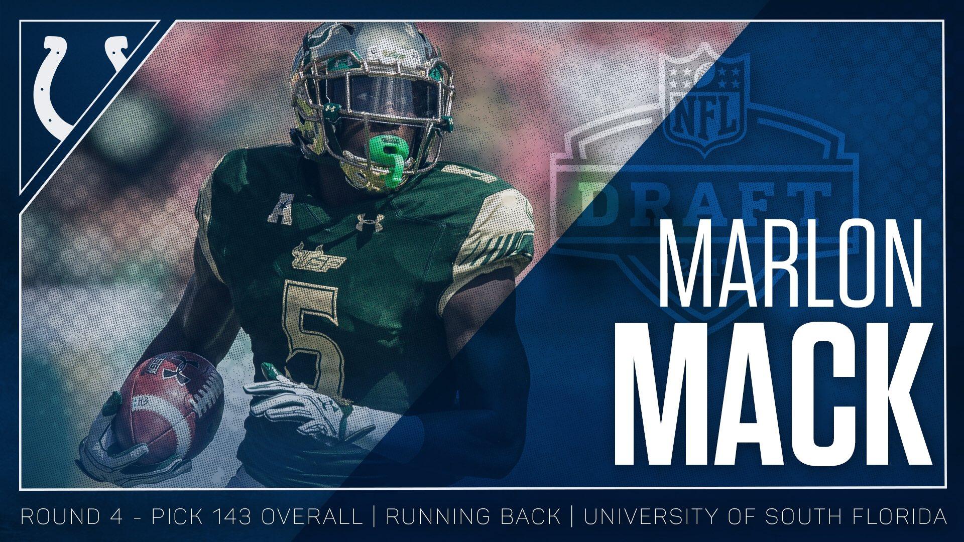 We got a running back. #ColtsDraft   Welcome to the horseshoe, @Marlon_Mack2! https://t.co/iY0avZqbi1