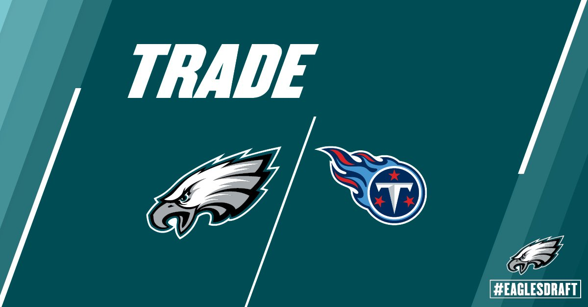 #Eagles have traded the 155th pick to TEN for pick 164 and 214. https://t.co/29ADE1Df2h